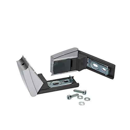 Kit de réparation de poignée de porte avec charnière de porte réfrigérateur pour Liebherr 9590178 9590124