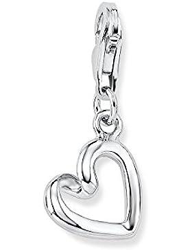 s.Oliver Damen-Charm 925 Silber teilrhodiniert