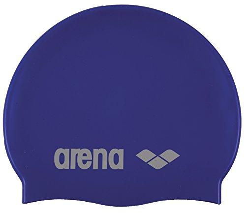Arena classic silicone cuffia, unisex adulto, blu (skyblue-white), taglia unica