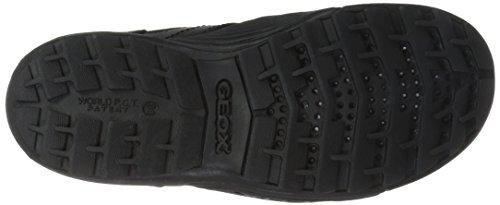 Geox J Savage G, Scarpe Stringate Basse Oxford Bambino Nero (Black C9999)