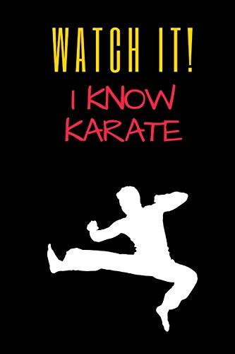 Karate Journal: Blank Gift Idea Journal Notebook - Leg Dance Pants
