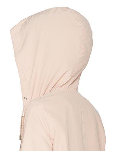 New Look Damen Jacke Cuddles Drawstring Beige (Nude)
