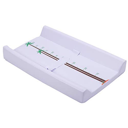 Tables à langer Couvercle de Coussin à Langer pour Commode légère en éponge et MDF pour bébé garçon et garçon, Station de Changement de Couche imperméable L73xW44XH9CM (Couleur : Style1)