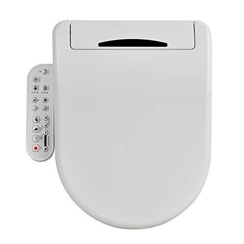 STILFORM Soho Dusch WC mit Dual Düse | Vollausstattung Bidet Aufsatz mit Sitzheizung und Nachtlicht