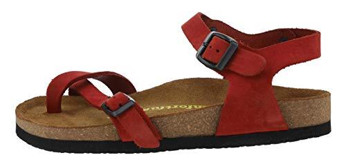 Comfortfüße Sandale Gabriella rot EU 35