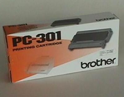 Brother PC-301 Original Mehrfachkassette für Fax 910/920, schwarz (Fax 910)