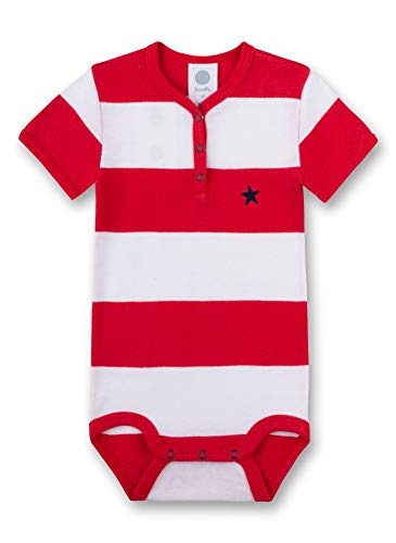 Sanetta Baby-Jungen Formender Body, Rot (Rouge 3480), 86 (Herstellergröße: 086)