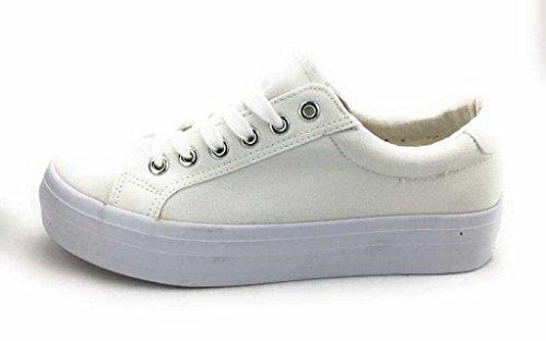 Jane Klain 832579000/101, Sneaker donna Bianco