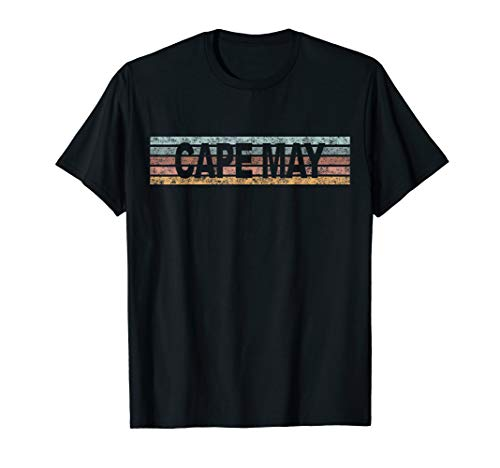 CAPE MAY New Jersey NJ USA Retro T-Shirt - Usa Cape