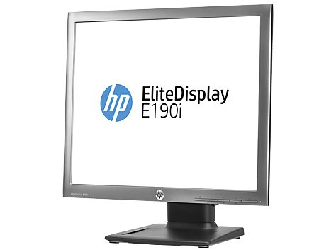 HP E4U30AA#ABB - E190i 19 INCH LED Backlit LCD Monitor Silver/Black