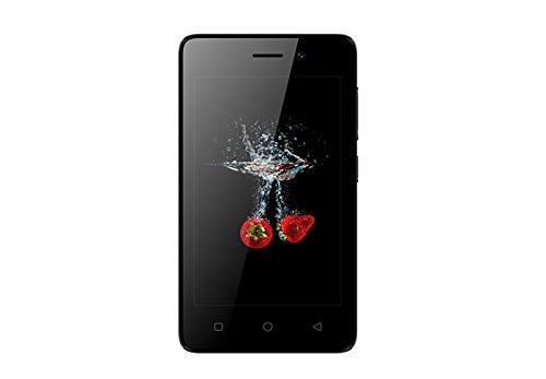 Qubo Liber BK-SL - Smartphone de 4' (Memoria de 8 GB, 1 GB de RAM, cámara DE 0.3 MP + 2 MP, batería de 1500 mAh, 3G)...