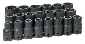 Grau Pneumatische 9021D Socket Set - Fractional Socket Set