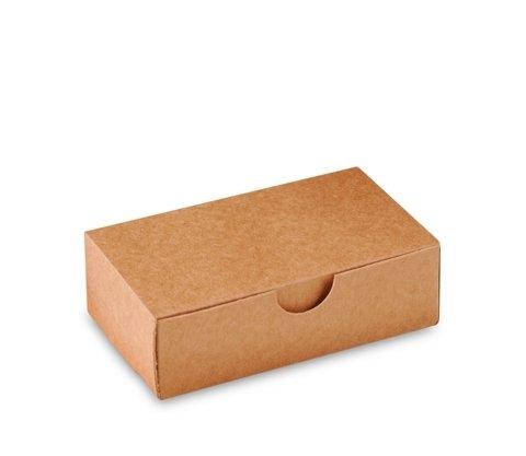 Pack de 50 cajas para jabones, tarjeta de visita o pequeños objetos que darán un toque más especial si cabe a tu producto. Cajas de montaje sencillo, ya que no les hace falta cola, y de dácil almacenamiento ya que son de una sola pieza. Tamaño exteri...