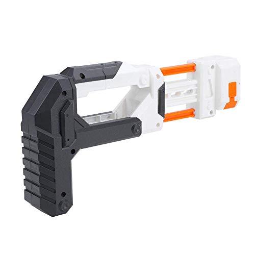 Schneespitze Schulterstütze aus Kunststoff mit Kunststoff Schulterstütze mit Munitionshalter Ammo Clip Halter Ersatz für Nerf Elite Modify Toy
