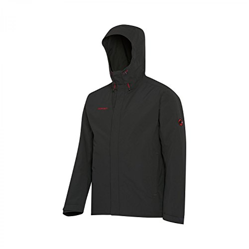 Mammut Trovat HS Hooded Jacket Men - Regenjacke graphite grey 0121