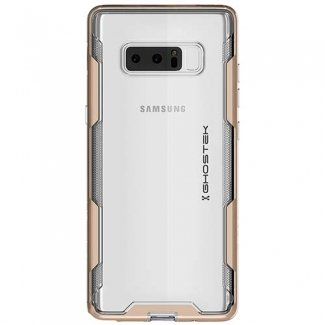 ghostek Umhang 3Series Slim Galaxy Note 8Case Stoßfest Military Grade Getestet, Gold (Box Otter Note 3 Case)