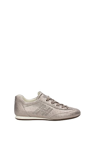 HXW052000417HVC416 Hogan Sneakers Femme Chamois Or Or