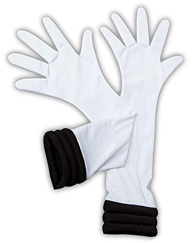 Chong Seng CHIUS Cosplay Costume White Gloves For Sailor Pluto Meiou Setsuna Version - Super Sailor Pluto Kostüm