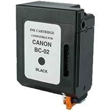 Akia–Bj 15V–Cartuccia compatibile Canon 0881A002/BC-02–Nera