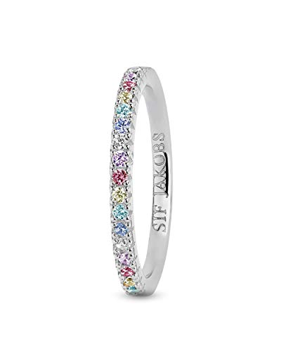 Sif Jakobs Jewellery Damenring Ellera Silber Ringgröße 54/17,2 SJ-R2869-XCZ/54