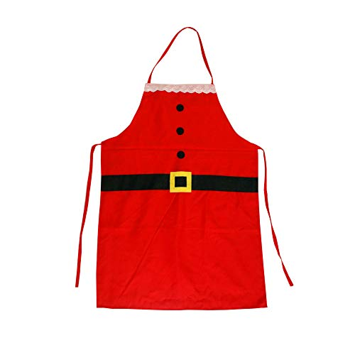 Sungpunet Chef roja Navidad Santa Claus Delantal niños