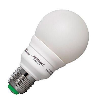 Energiesparlampe, E27/11W-827, MEGAMAN, Sensible