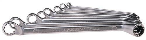Promat 823400 Double Jeu de clés polygonales 8. DIN838 SW6 x 7-22 x 22 mm PROMAT ISO3318/1085