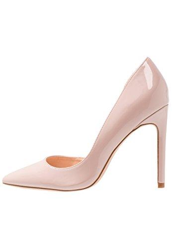 Even&Odd High Heel Pumps - Lackpumps elegant mit Stilettoabsatz - Absatzschuh in Nude-Rosa, Größe 40