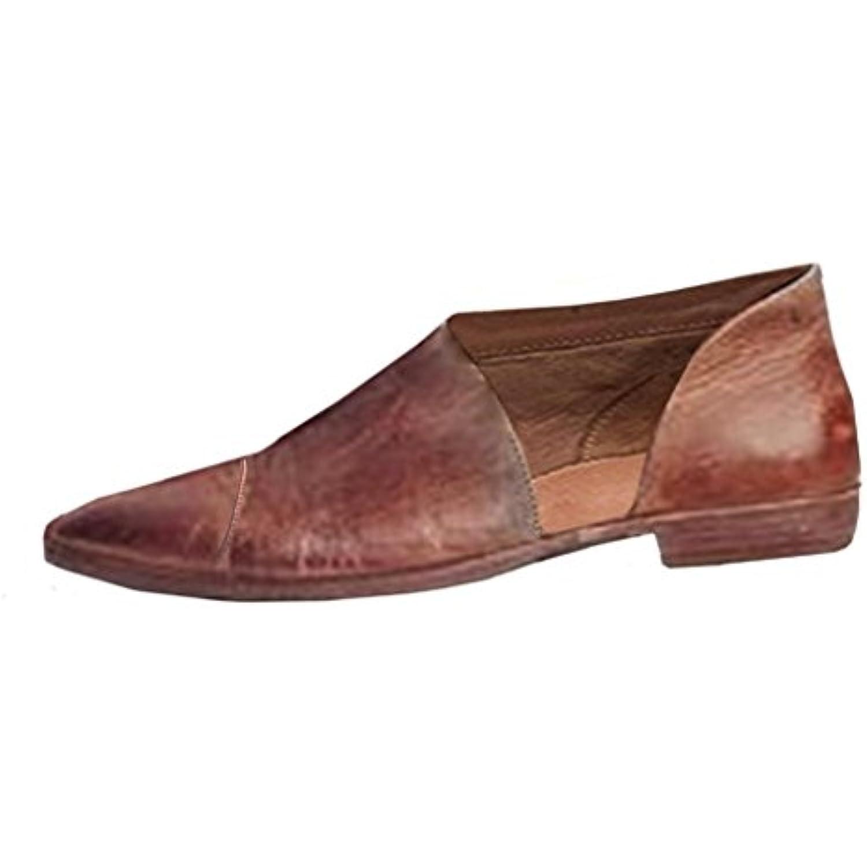 s Été, YUYOUG Femmes Mode Casual Chaussures plates Chaussures Nu Chaussures plates  s à la cheville - B07D6MQZM8 - fc89df