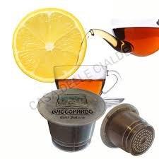 NESPRESSO compatibili 160 Capsule the al limone Gattopardo