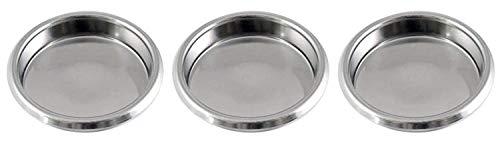 Gas N Pow3r x3 Puly Caff Blindfilter Blende Scheibe Edelstahl 58 mm für rückspülende kommerzielle...