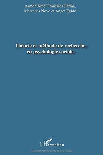 Théorie et méthode de recherche en psychologie sociale