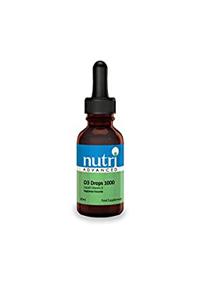 Nutri Advanced D3 Drops 1000 IU 28 ml Liquid from Nutri