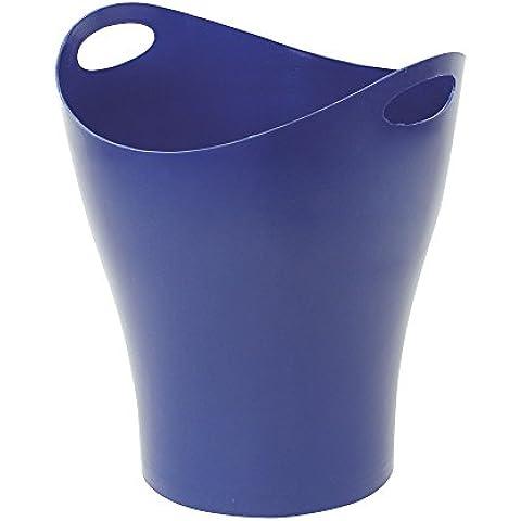 Makro Paper 2893 - Papelera de material reciclado, azul