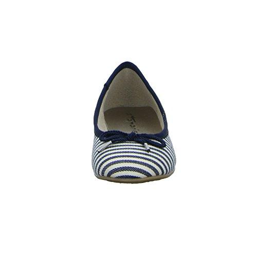 Tamaris 11 22142 28 874, Ballerine donna blau NAVY STRIPES (874)