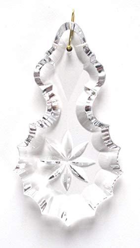 pampille en cristal 100mm avec une étoile pour lustres - décoration