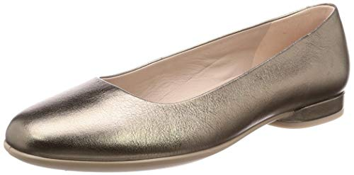Ecco Anine, Bailarinas Mujer, Stone Metallic 51147