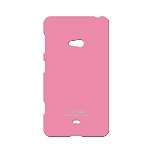 Acm Multi-color Soft Silicon Back Case For Nokia Lumia 625 Mobile Cover - Light Pink  available at amazon for Rs.349