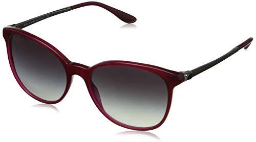 Bulgari Damen 0Bv8160B 53338G 54 Sonnenbrille, Rot (Red/Grey)