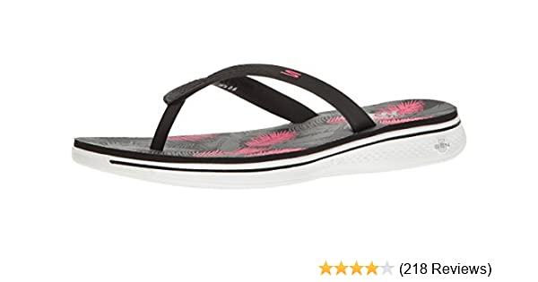 932d7f1b4219 Skechers Women s H2 GOGA-Lagoon Flip Flops  Amazon.co.uk  Shoes   Bags