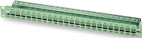 TE Connec.AMP/ADC(EU) 24 Port Panel 0-0336526-1 Flush Mount Patchpanel Kupfer 7330268026614 (Adc-panels)