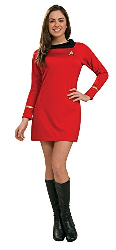 uxus-Damenkostüm Star Trek Uhura-Kleid, Größe S (Halloween Star Trek)