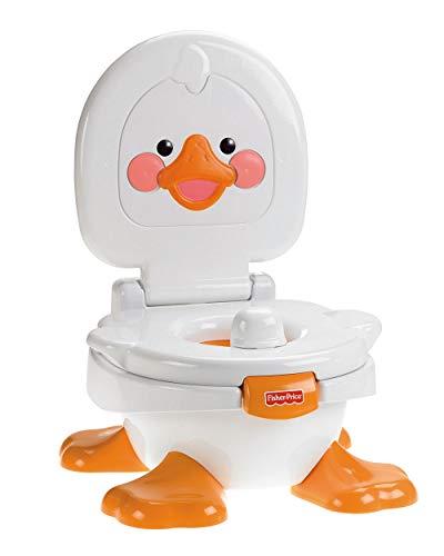 Fisher-Price Orinal Cuá Cuá 3 en 1, orinal para bebé +9 meses Mattel T6211