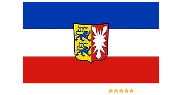 U24 Aufkleber Schleswig Holstein Flagge Fahne 8 X 5 Cm Autoaufkleber Sticker Auto
