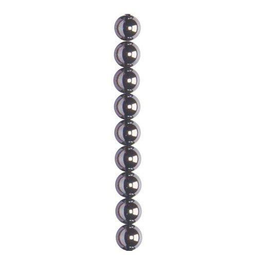 Semi-Precieuse/Hematite rond Lot de 1 à 4 mm
