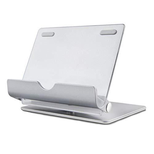 Supporto per telefono, portatile e pieghevole, invisibile, per scrivania, letto, supporto per tablet, perfettamente integrato con tutti gli smartphone, e-reader...