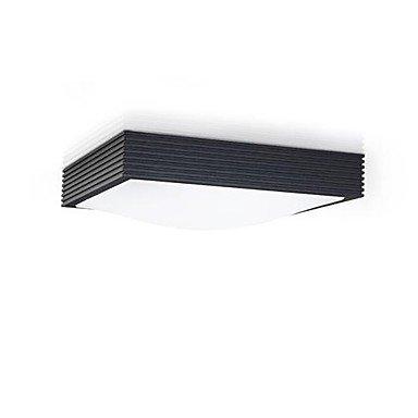 16 Watt Einbauleuchten (DXZMBDM® schwarz Einbauleuchten führte 16w 220v Weißlicht-schlicht und modern)