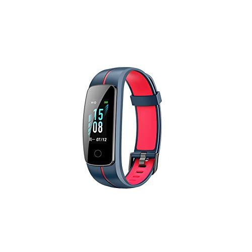 Neue id107c Zwei-Farben-Gurt Veryfit Pro Herzfrequenz Schieben Smart Armband Bildschirm Farbbildschirm