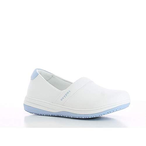 Oxypas Suzy, Women's Safety Shoes, Blanco (Lbl), 37 EU