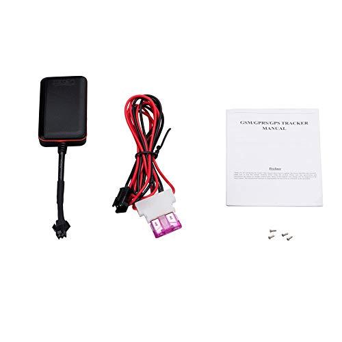 Portable Mini GPS Tracker Vehicle Tracking Device Car Motorcycle GSM  Locator Black